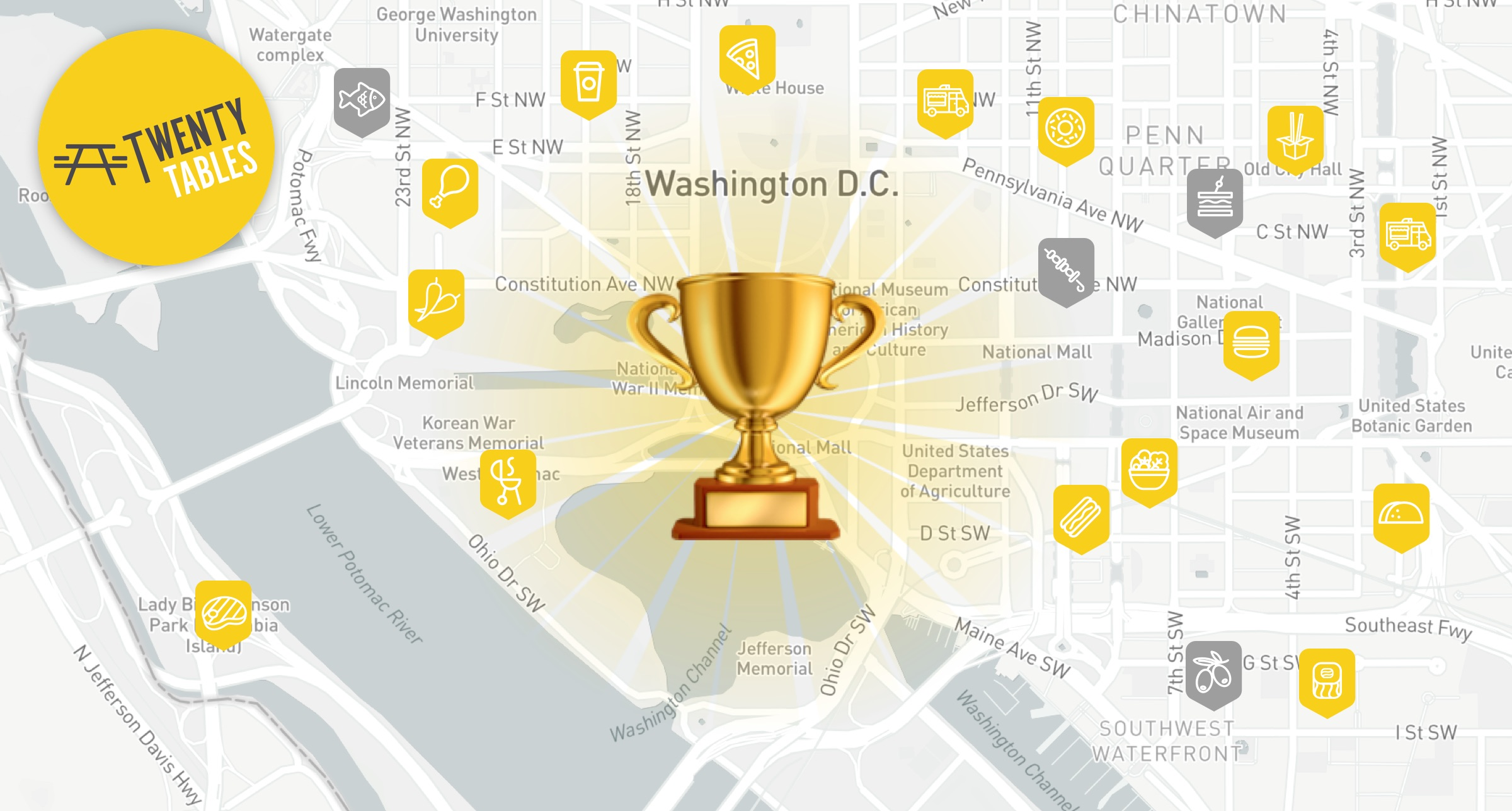 "Why our Flagship Mobile App ""TwentyTables"" Won DC Startup Week"