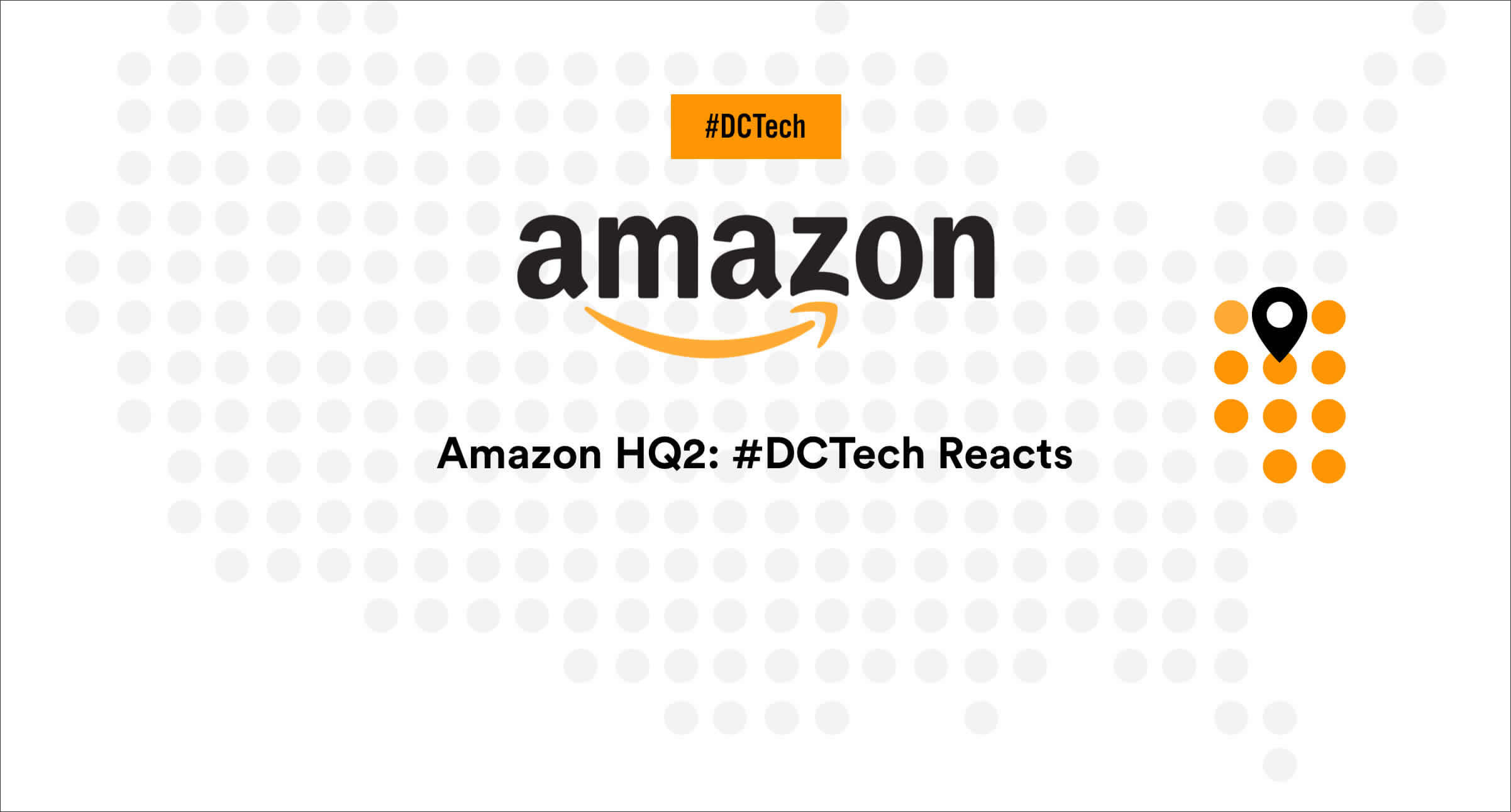Survey Infographic & Quotes: #DCTech Reacts to Amazon HQ2