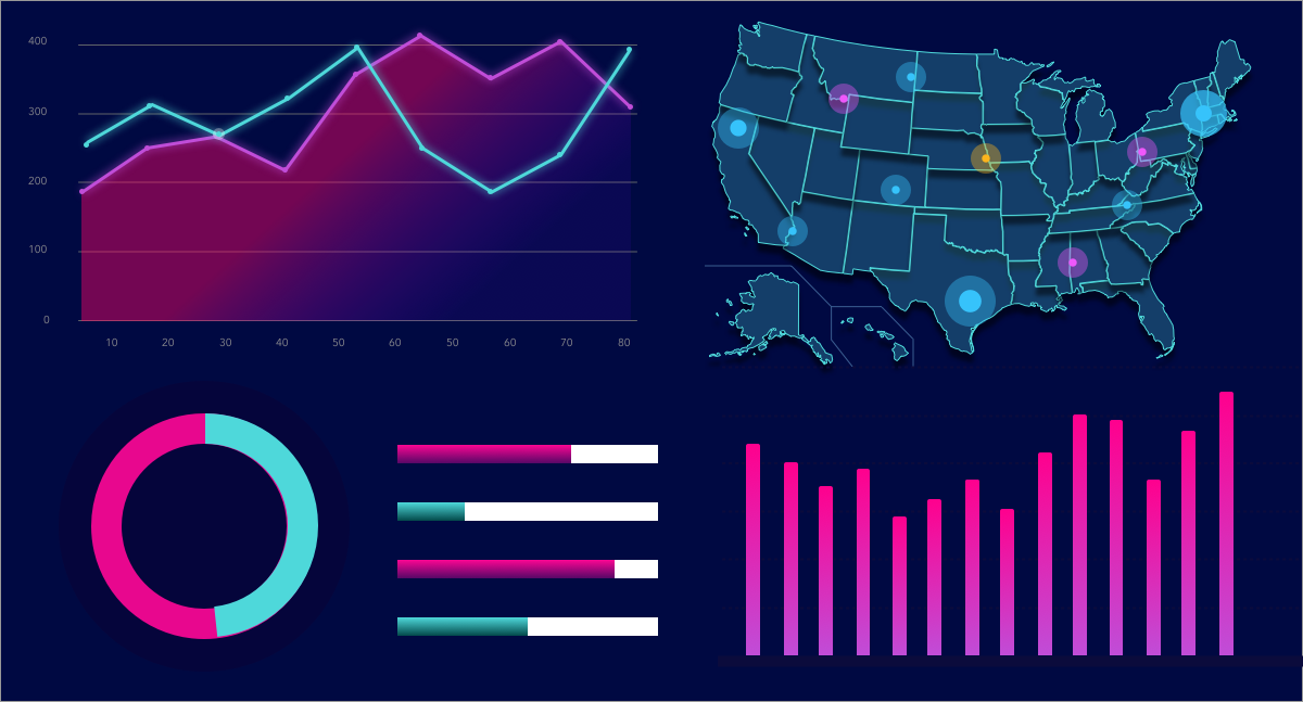 Leverage your data with business intelligence – BI tools for visualizing big data